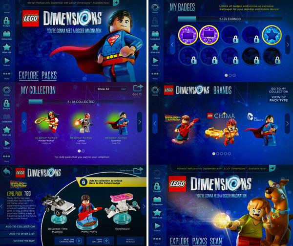 Lego Dimensions App Ufficiale Scherm19