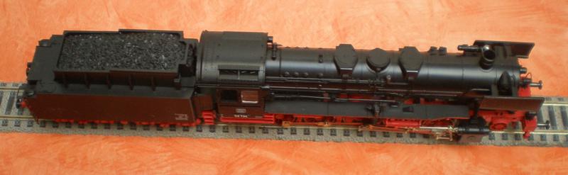 Fleischmann BR 50 mit großen Tender T 34 50_13435