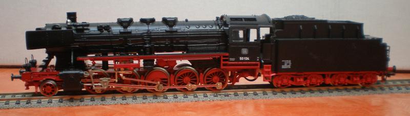 Fleischmann BR 50 mit großen Tender T 34 50_13436
