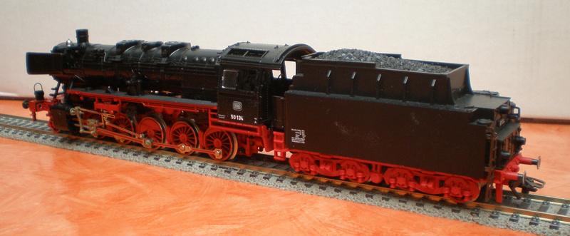 Fleischmann BR 50 mit großen Tender T 34 50_13437