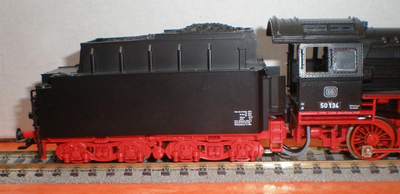 Fleischmann BR 50 mit großen Tender T 34 50_13439