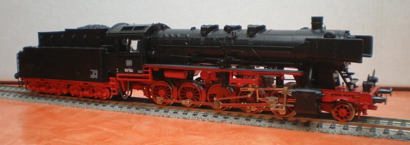 Fleischmann BR 50 mit großen Tender T 34 50_13441