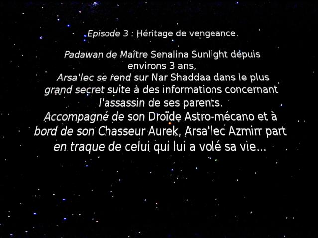 Azmirr Legacy, Episode 3 : Héritage de vengeance. Apisod10