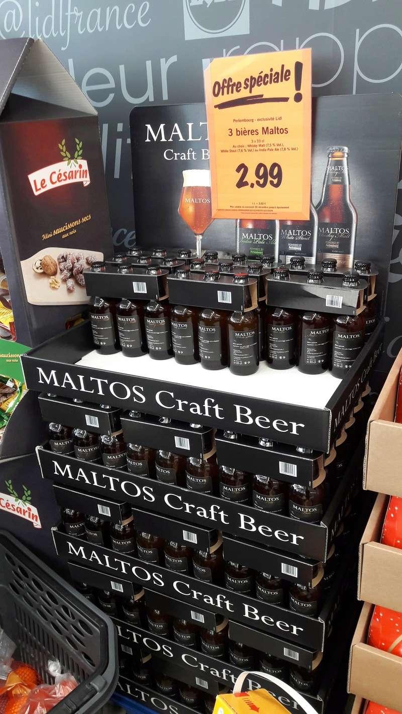 Craft beers chez Lidl 20170111