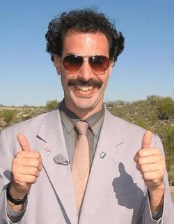 Were always here to help...tweak things... Borat10