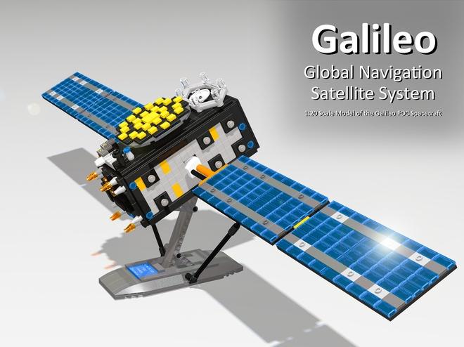 Le système de navigation Galileo en LEGO Galile10