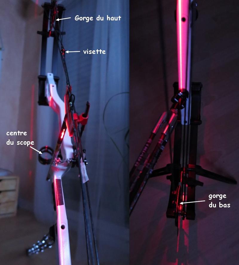 vérifier les alignements sur un arc à poulies Img_2612