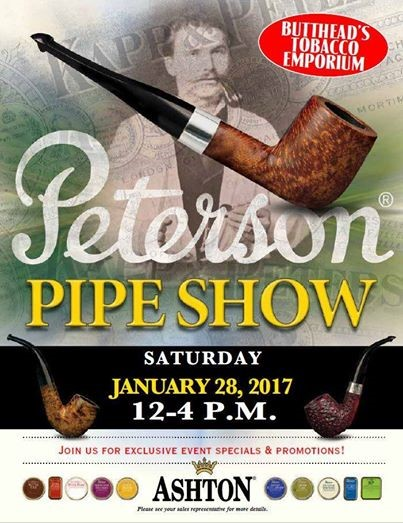 Peterson Pipes & Tobacco Trunk Show @ Buttheads Danbury, CT Peters10