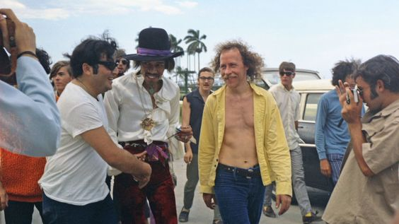 Miami (Miami Pop Festival) : 18 mai 1968 [Premier concert] Jimi_m19