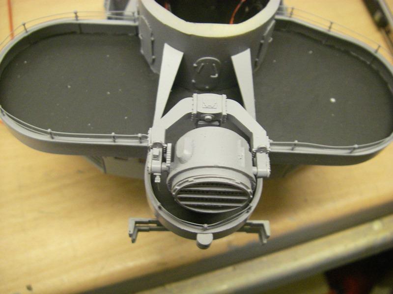 Bismarck 1:100 nur die Aufbauten  - Seite 6 Imgp9112
