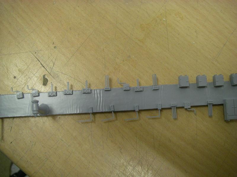 Bismarck 1:100 nur die Aufbauten  - Seite 6 Imgp9126
