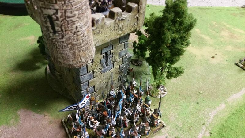 La tour de sang - Un combat elfique fratricide Assaut10
