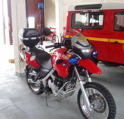 Les motos SAMU 85910211