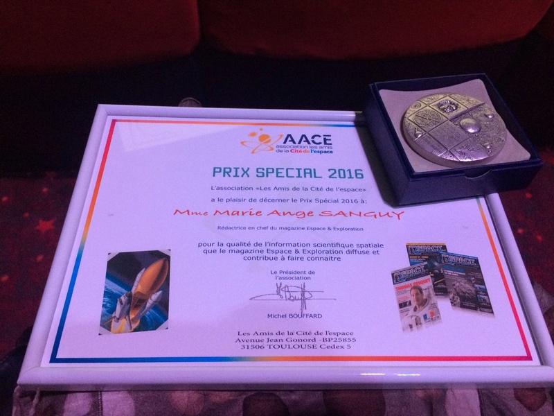 Espace & Exploration : Prix Spécial des Amis de la Cité de l'espace Aace-211
