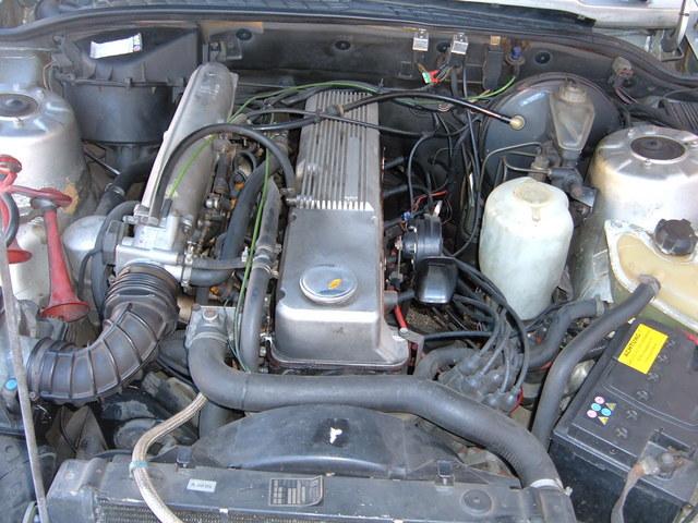 Opel Senator 2.5E 1984 , problème d'alimentation d'essence Photo010