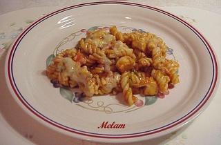 Poêlée de pâte au poulet et aux poivrons de Kraft Fusili10
