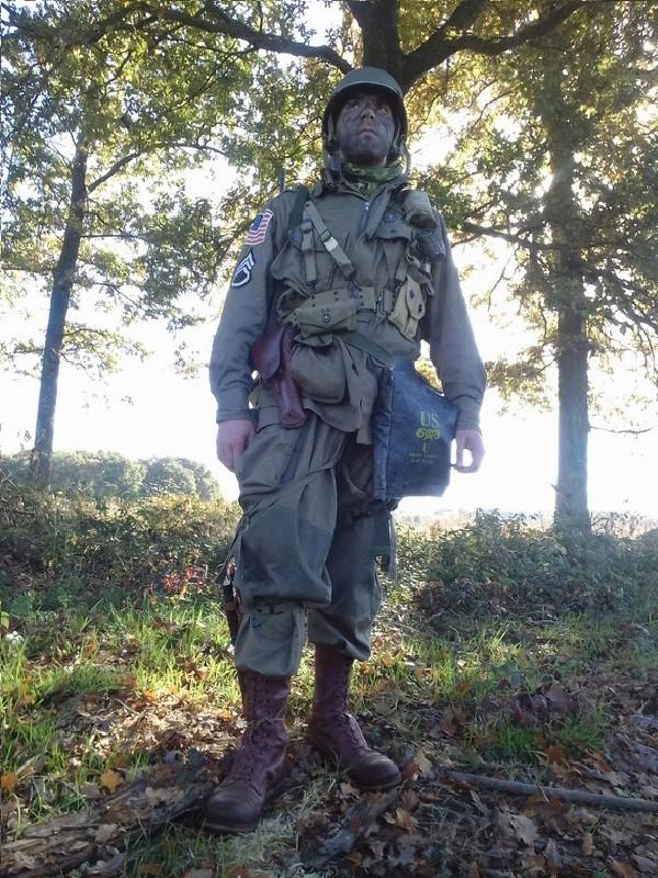 Vend tenue parachutiste américaine complète 2ème guerre 20161012