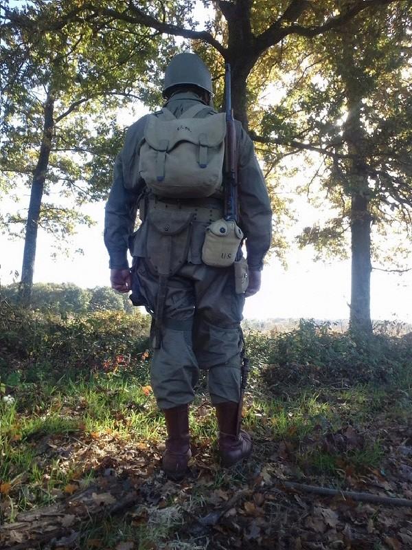 Vend tenue parachutiste américaine complète 2ème guerre 20161013