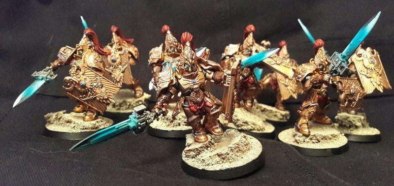 Iron hands, chevaliers, legion cybernetica et maintenant titan warlord  20161121