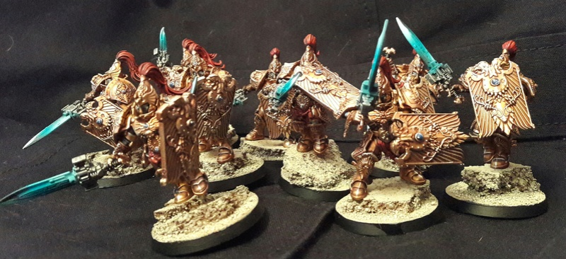 Iron hands, chevaliers, legion cybernetica et maintenant titan warlord  20161122