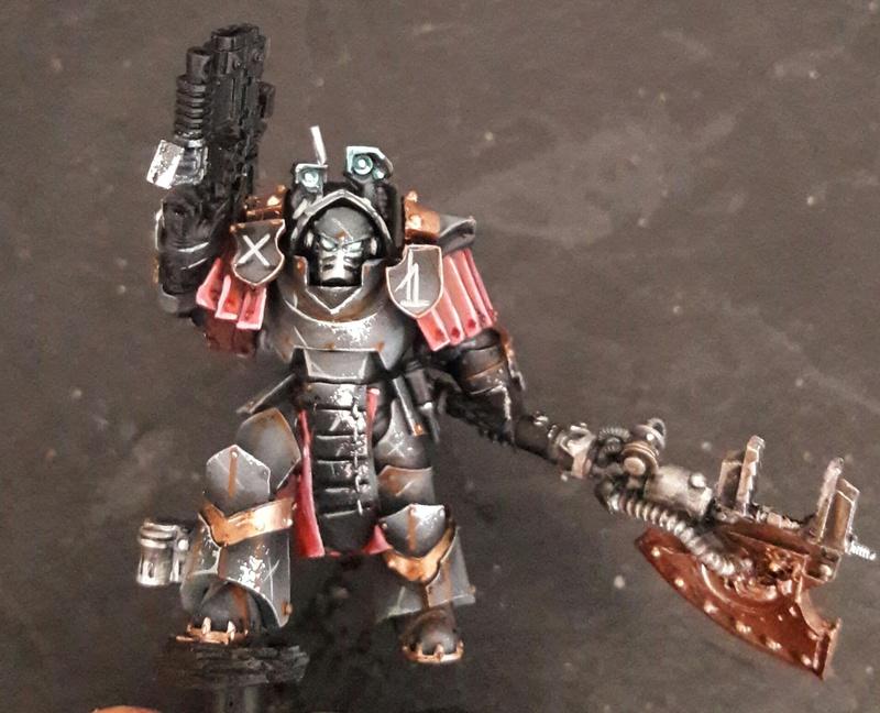 Iron hands, chevaliers, legion cybernetica et maintenant titan warlord  20161210