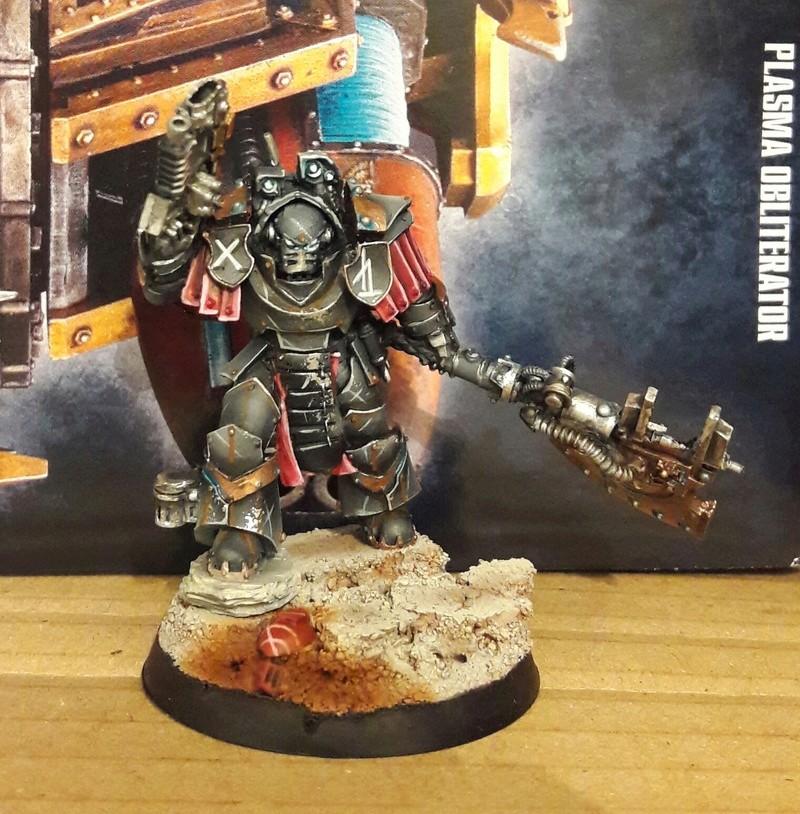 Iron hands, chevaliers, legion cybernetica et maintenant titan warlord  20161211