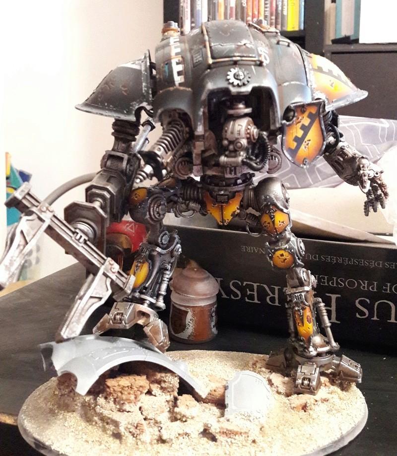 Iron hands, chevaliers, legion cybernetica et maintenant titan warlord  20170116