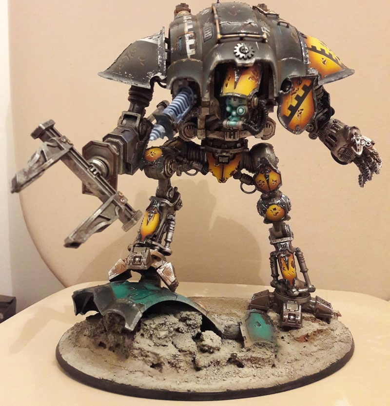 Iron hands, chevaliers, legion cybernetica et maintenant titan warlord  20170118