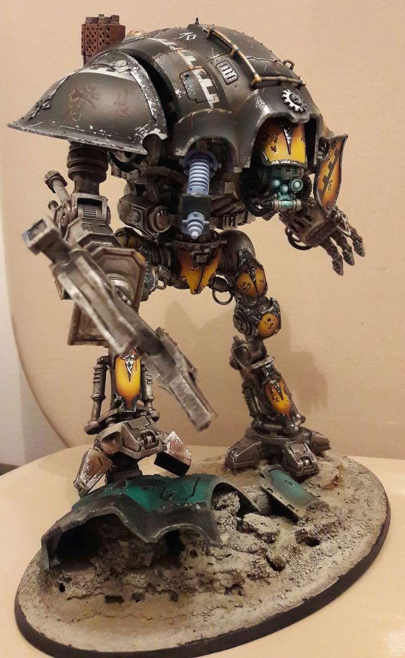 Iron hands, chevaliers, legion cybernetica et maintenant titan warlord  20170120