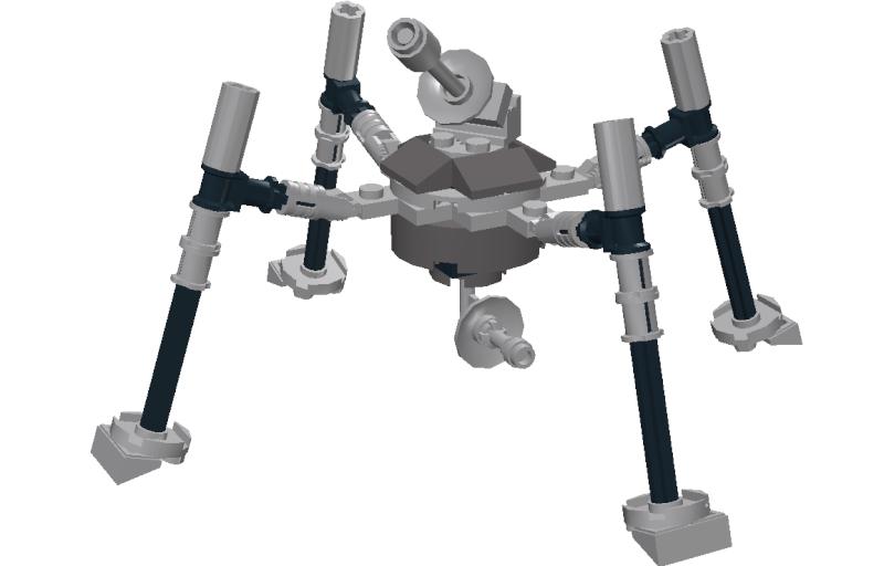 Midi-scale Spider Walker UPDATE! Lddscr11