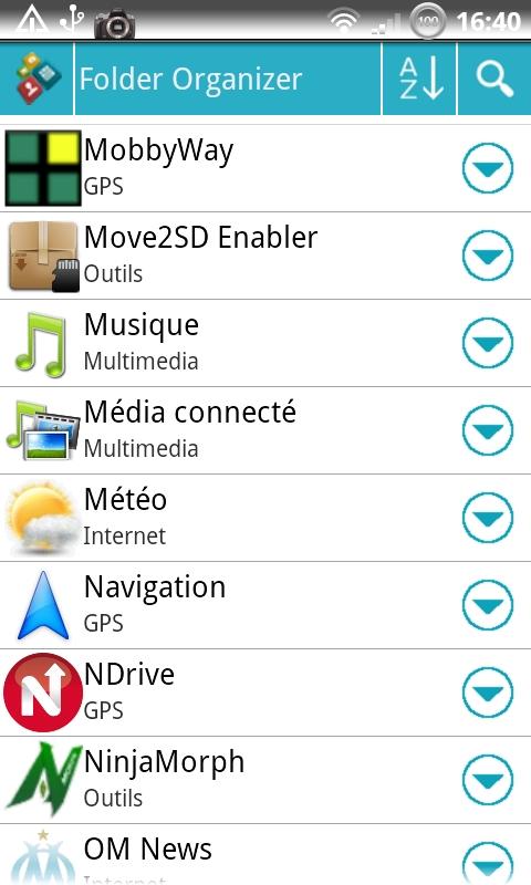 [AVIS] Le meilleur logiciel pour classer facilement vos applications sous Android? Cap20149