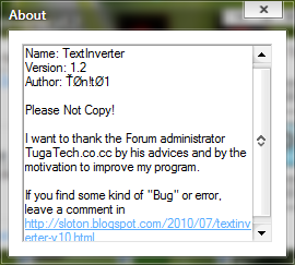 TextInverter Sem_ta10