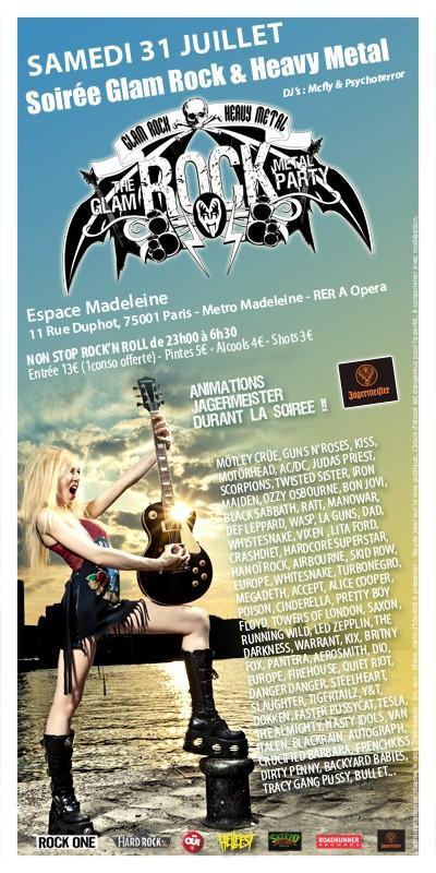 Soirée glam rock& heavy métal...31 Juillet.. L_07c210