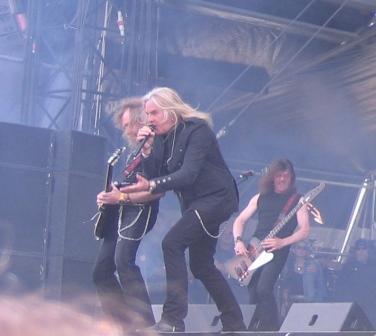Hellfest  20 Juin 2010.. Sax_he10
