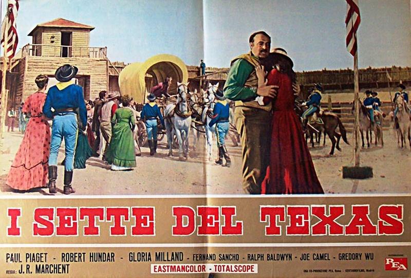Les sept du Texas - Antes llega la muerte - 1964 - J.L. Romero Marchent 12004210