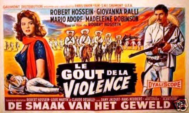 Le goût de la violence  ( Febbre di Revolta ) –1960- Robert HOSSEIN Af5b_110