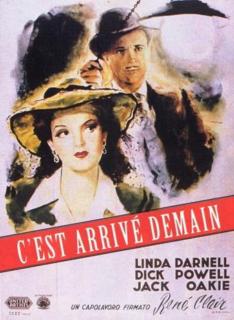 C'est arrivé demain. It Happened Tomorrow. 1944. René Clair. Aff111
