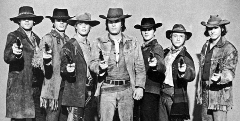 La Brigade des cow-boys. Journey to Shiloh. 1968. William Hale. Brigad10