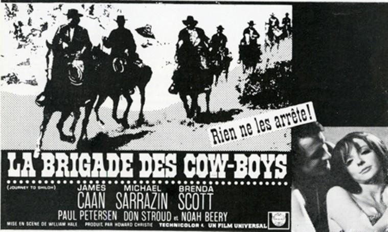 La Brigade des cow-boys. Journey to Shiloh. 1968. William Hale. Brigad11