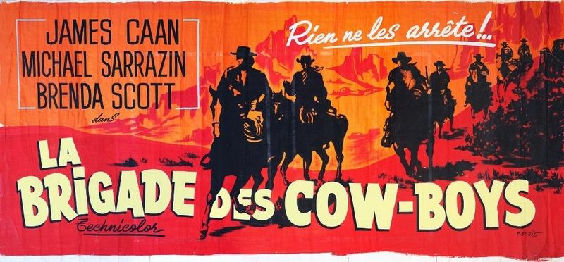 La Brigade des cow-boys. Journey to Shiloh. 1968. William Hale. La-bri10