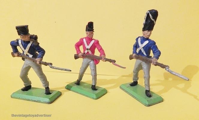 Toy soldiers, cowboys, indians, space men etc Britai10