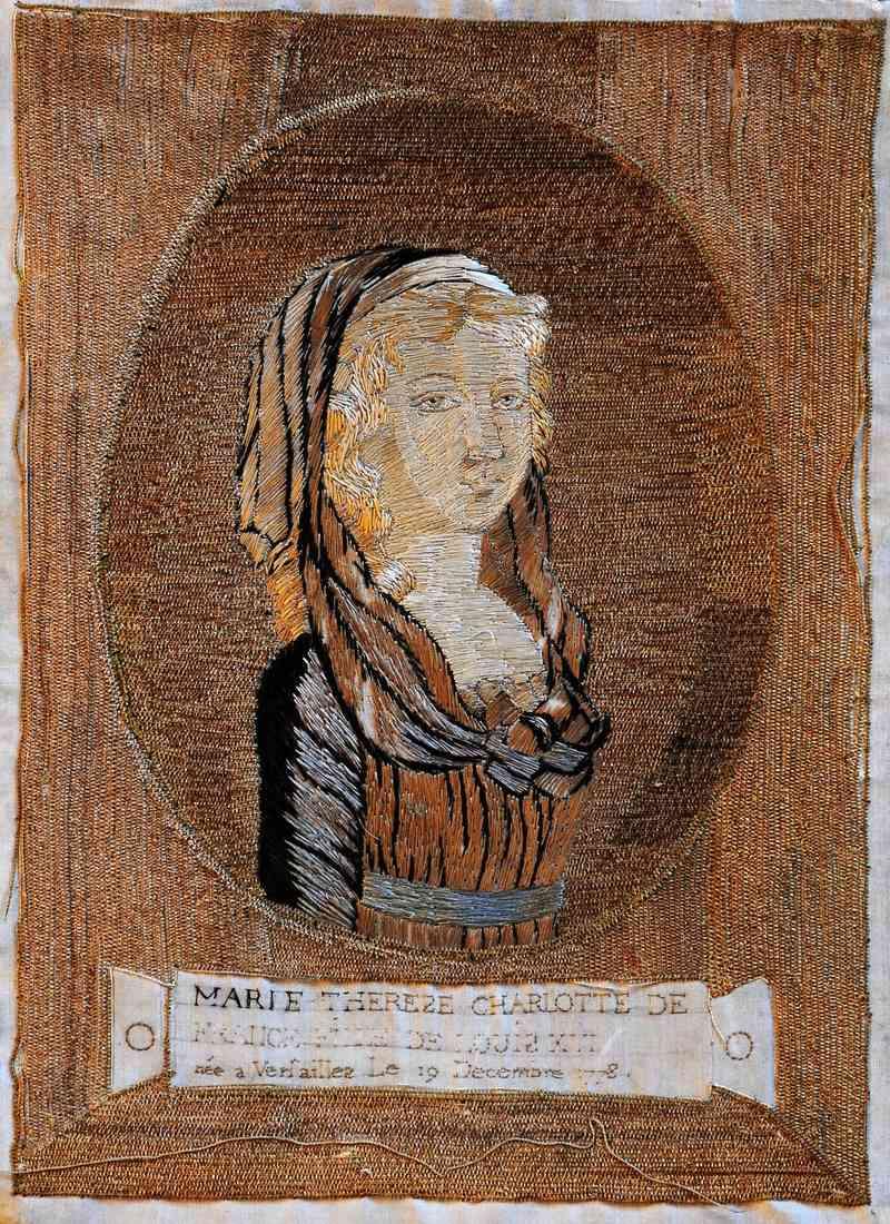 Portraits de Madame Royale, duchesse d'Angoulême - Page 4 Dessin10