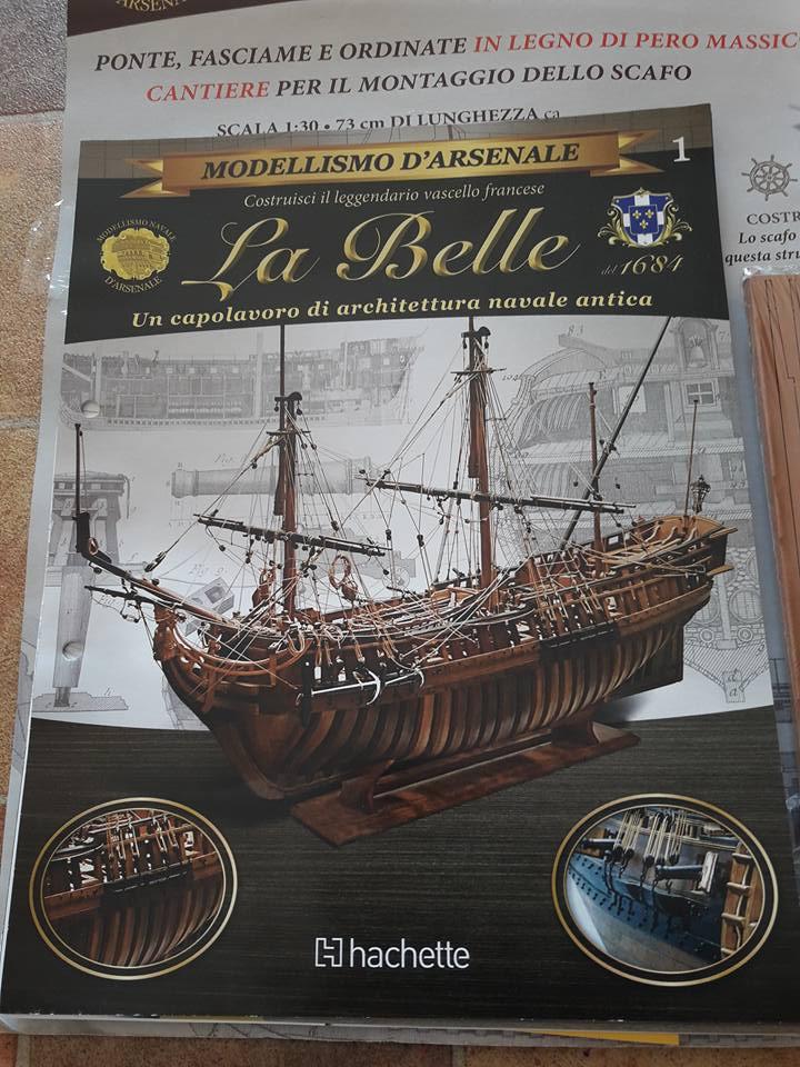 """Hachette """"La Belle"""" en kit d'arsenal  (...avec l'espoir que la peine sera légère) 25854110"""