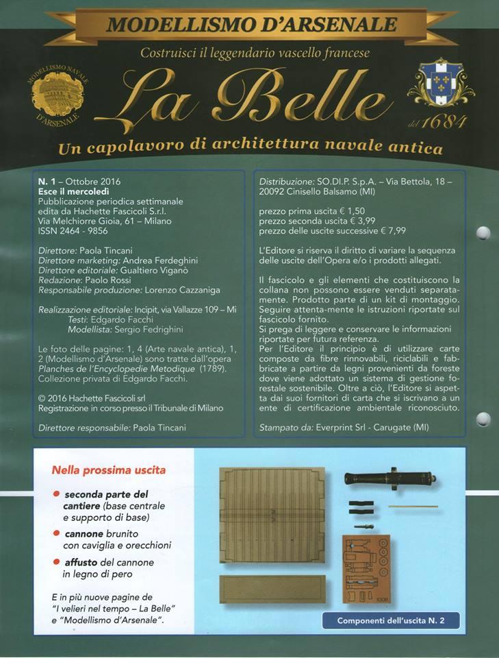 """Hachette """"La Belle"""" en kit d'arsenal  (...avec l'espoir que la peine sera légère) 25854410"""