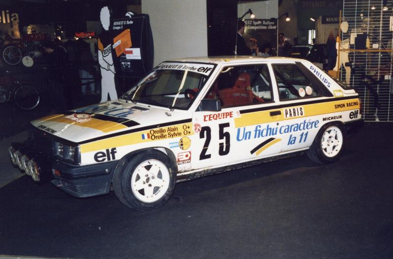 Renault 9 Turbo et Renault 11 Turbo Forum-11