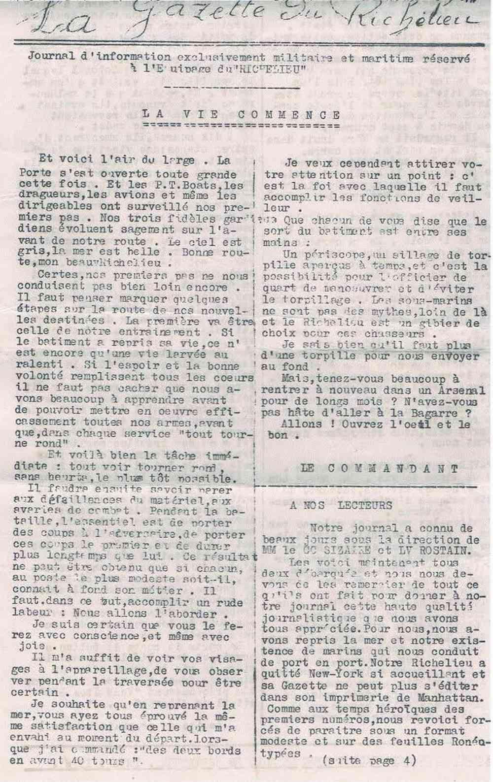 [Les batiments de ligne] RICHELIEU ET JEAN BART - TOME 2 - Page 36 124