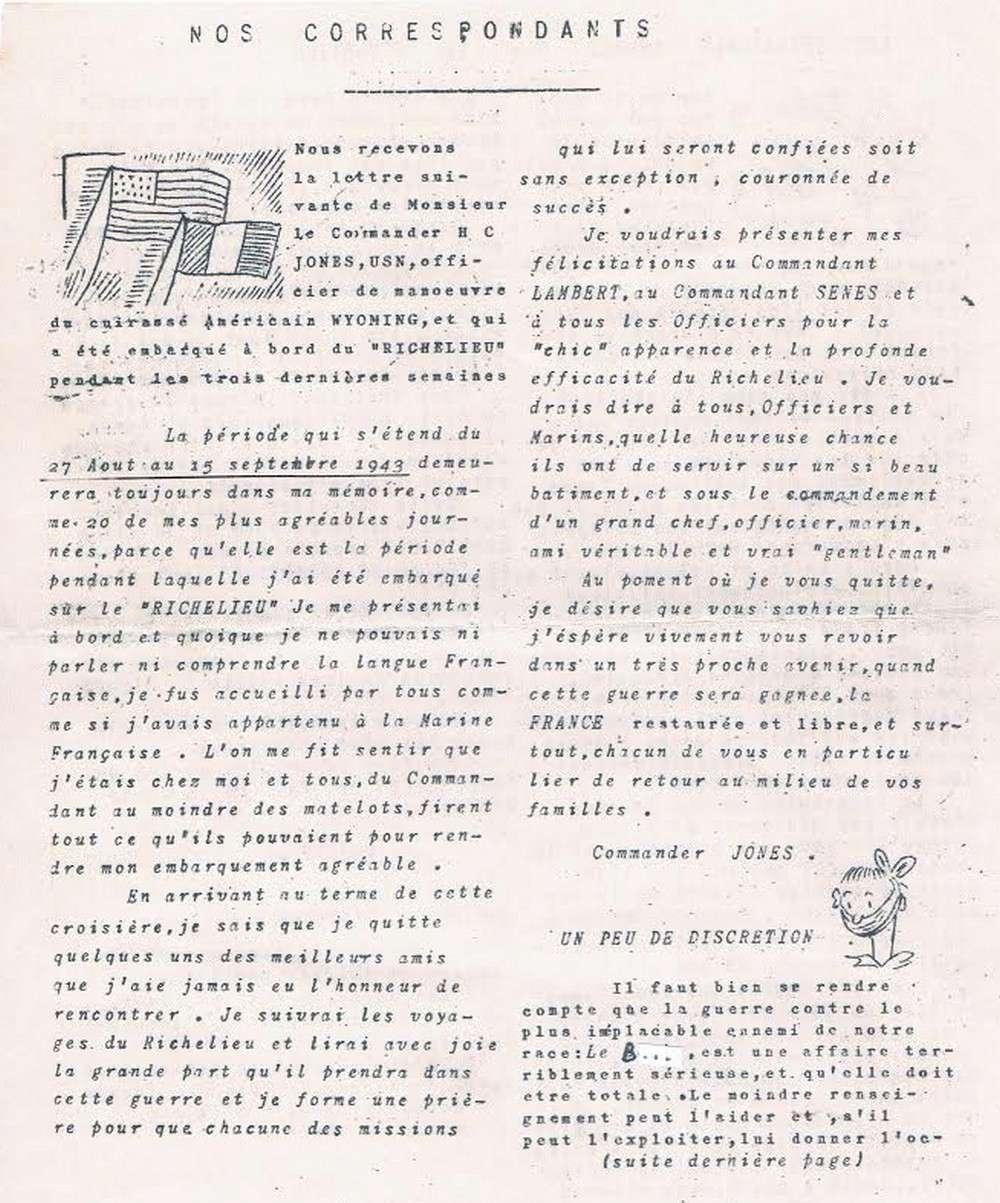 [Les batiments de ligne] RICHELIEU ET JEAN BART - TOME 2 - Page 38 A22