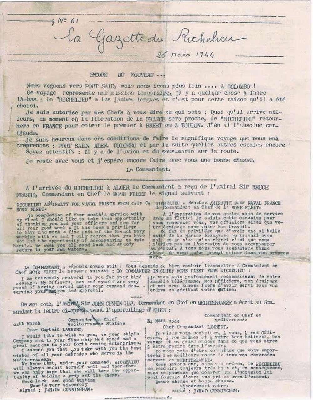 [Les batiments de ligne] RICHELIEU ET JEAN BART - TOME 2 - Page 39 B27
