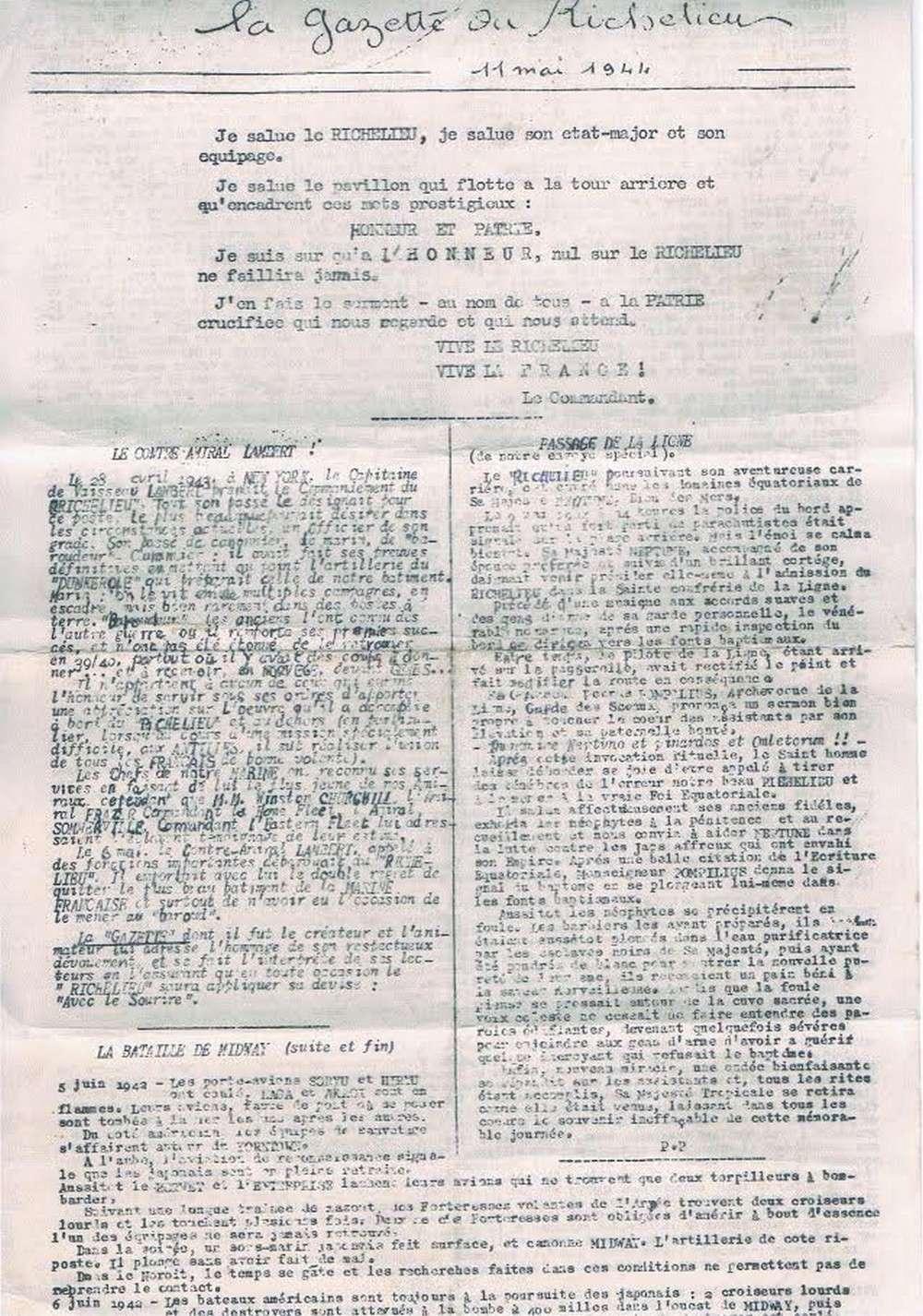 [Les batiments de ligne] RICHELIEU ET JEAN BART - TOME 2 - Page 39 D24