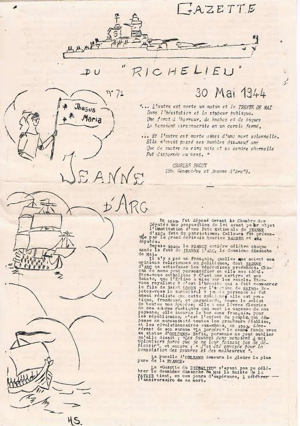 [Les batiments de ligne] RICHELIEU ET JEAN BART - TOME 2 - Page 39 F23